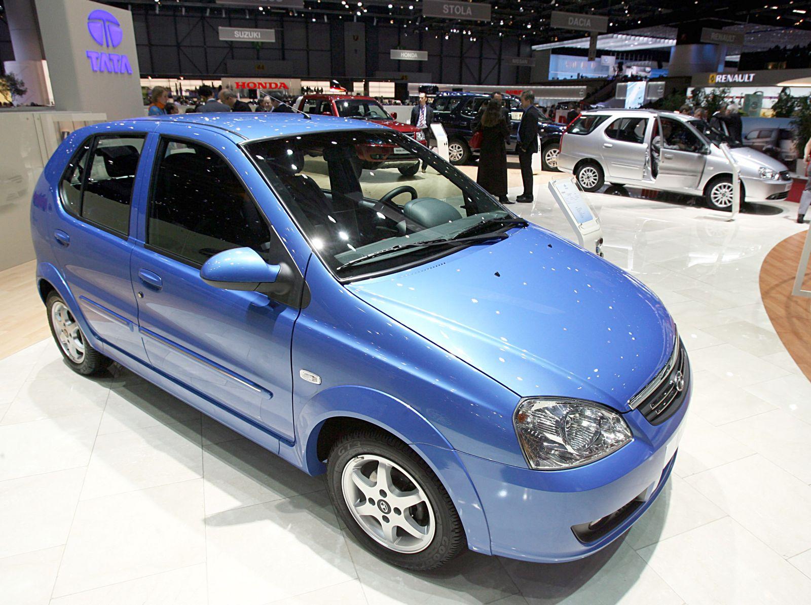 Autosalon Genf - indischer Fahrzeughersteller Tata