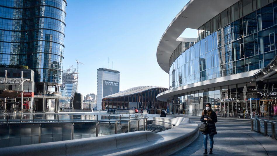 Finanzzentrum Porta Nuova in Mailand
