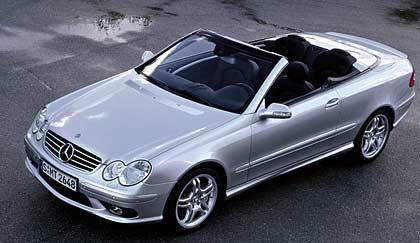Mercedes CLK: Textile Größe
