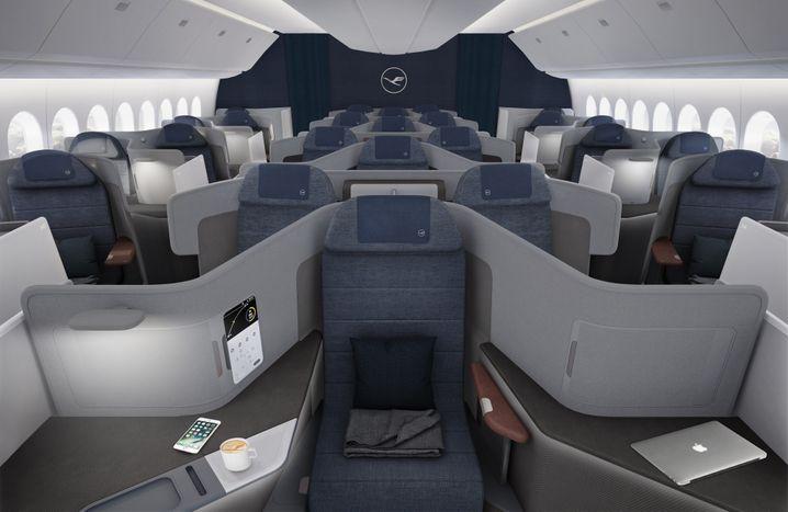 Die neue Business Class der Lufthansa soll 2020 an den Start gehen.