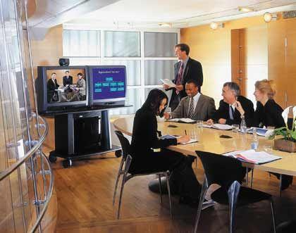 Bildtelefon: Konferenzsysteme von Tandberg kann selbst der Chef bedienen