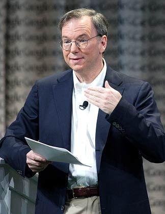 Goldene Zeiten: Google-Chef Schmidt blickt einer rosigen Zukunft entgegen