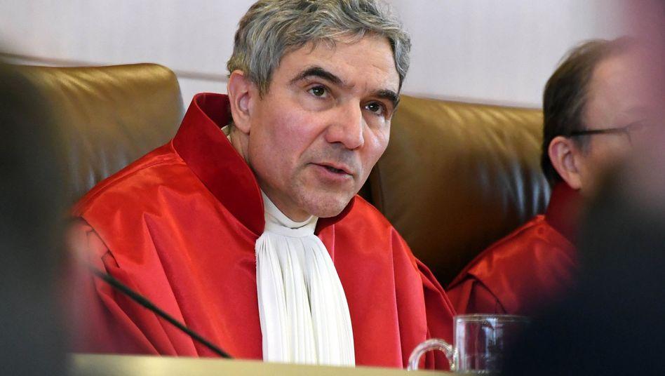 Fünfter Mann im Saat: Der ehemalige CDU-Fraktionsvize Stephan Harbarth wird neuer Präsident des Bundesverfassungsgerichts