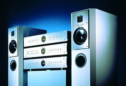 Alles komplett: Die Rondo-Linie bietet alles vom Vollverstärker bis zum Tuner und CD-Player
