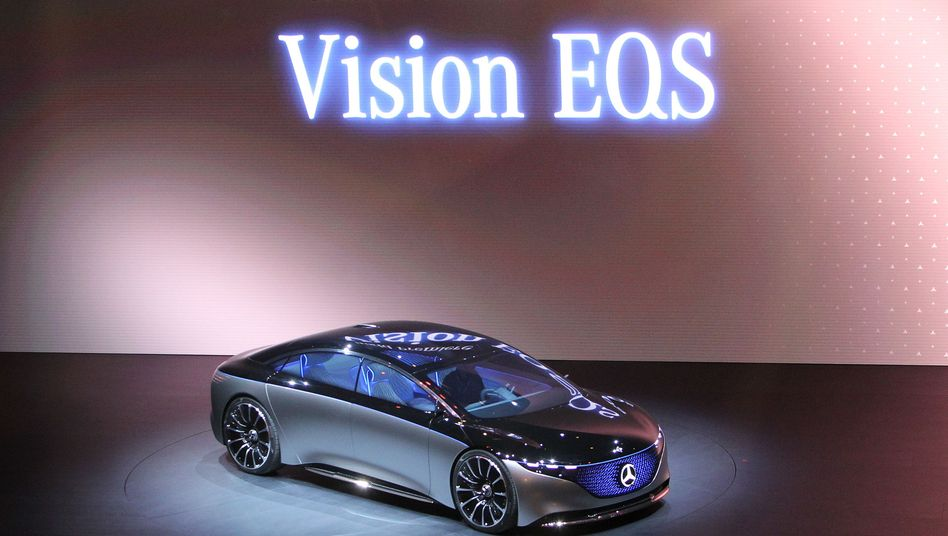Elektro-S-Klasse: Mercedes-Benz Vision EQS auf der IAA 2019 in Frankfurt am Main
