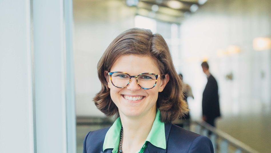 Umstieg zur Bahn: Wirtschaftsingenieurin Daniela Gerd tom Markotten will den männlich dominierten Konzernvorstand aufmischen