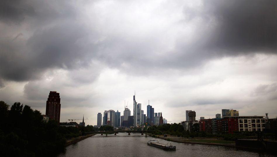 Blick auf Bankenviertel Frankfurt: In der Stadt am Main hat auch die Investmentbank MainFirst ihren Sitz