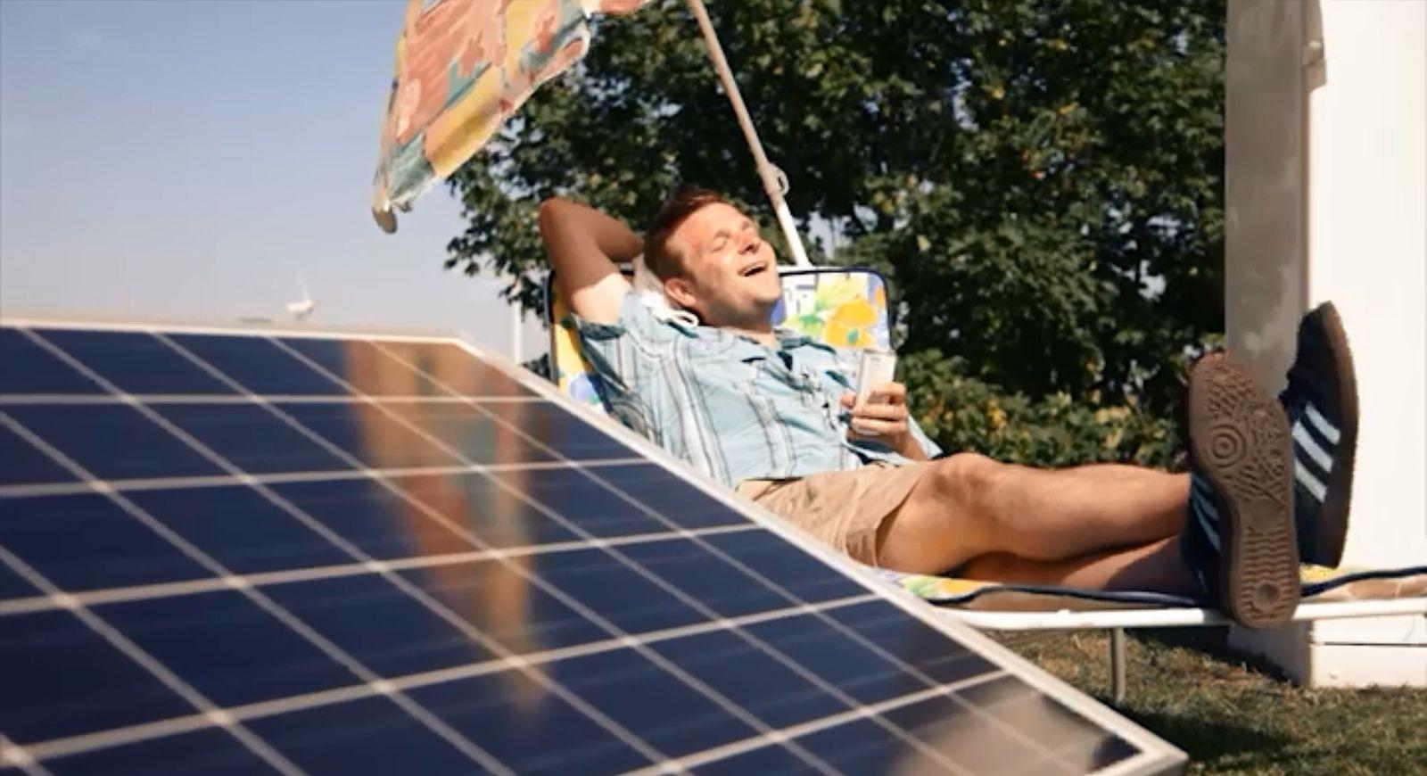 Solaranlage für den Balkon: Wie Mieter geblendet werden - manager magazin