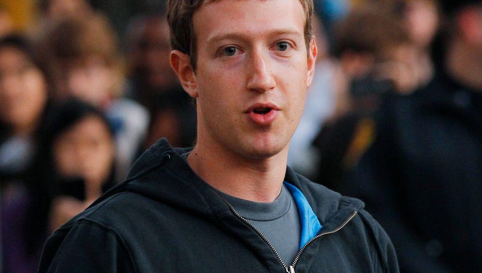 Großzügig: Facebook-Gründer Zuckerberg spendet eine halbe Milliarde Dollar