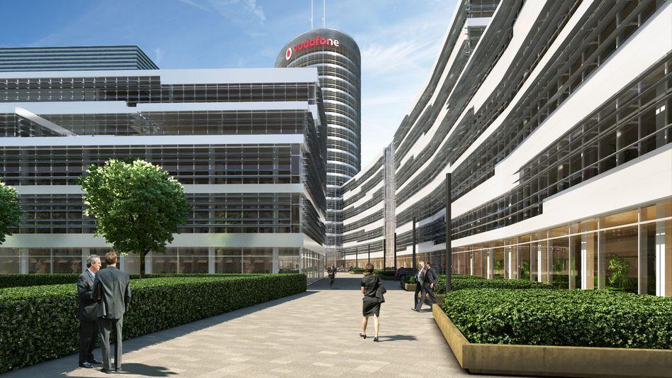 Neues Vodafone-Deutschland-Hauptquartier in Düsseldorf-Heerdt: Mobilfunker erwägt Zukauf