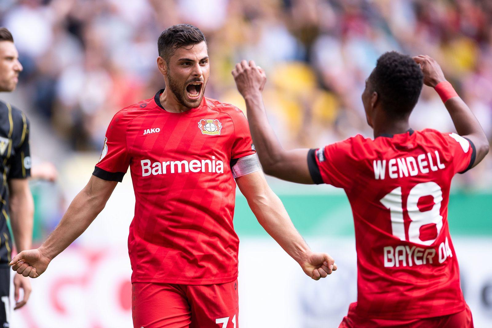 Alemannia Aachen - Bayer Leverkusen Volland