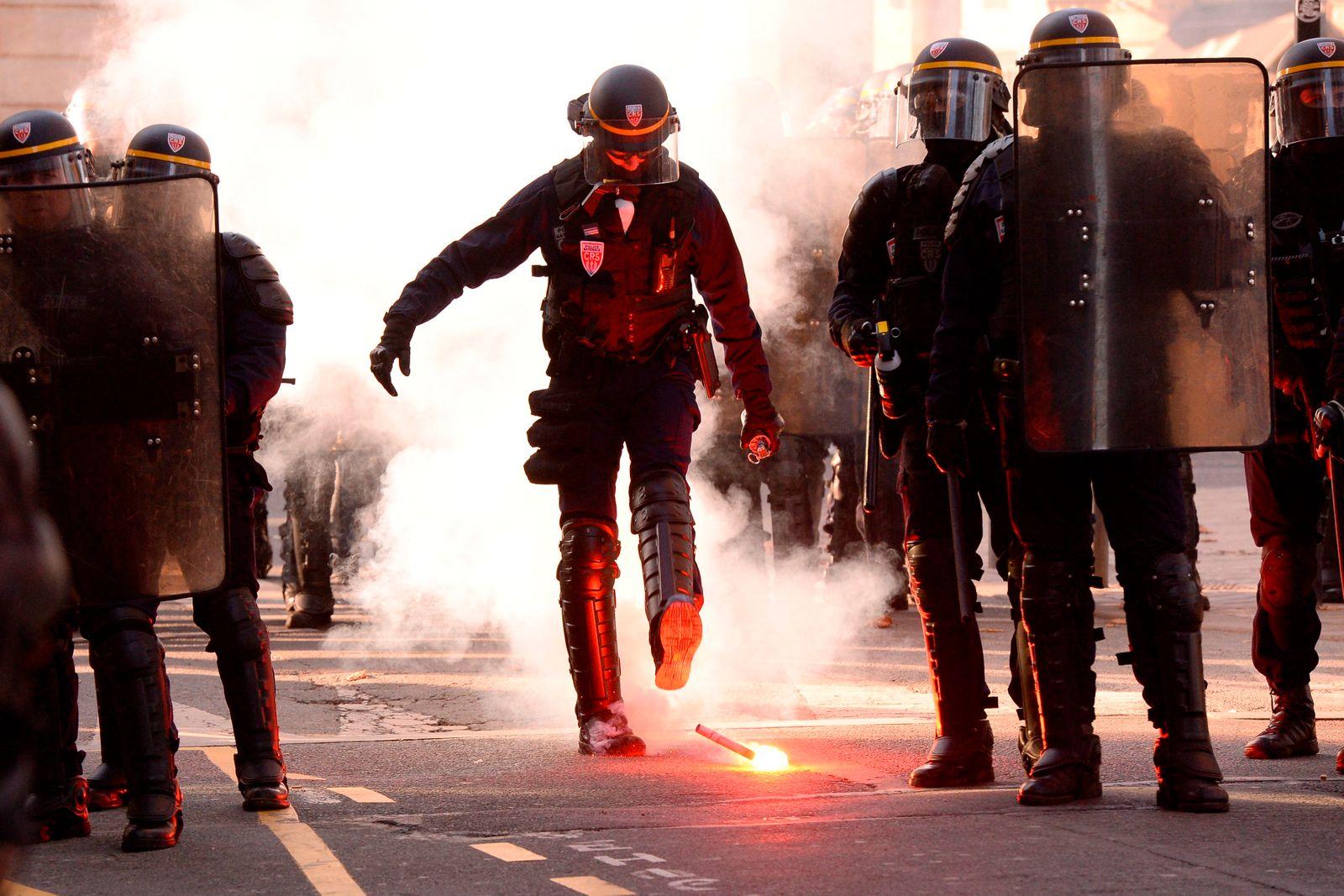 Streik/ Frankreich/ 2019