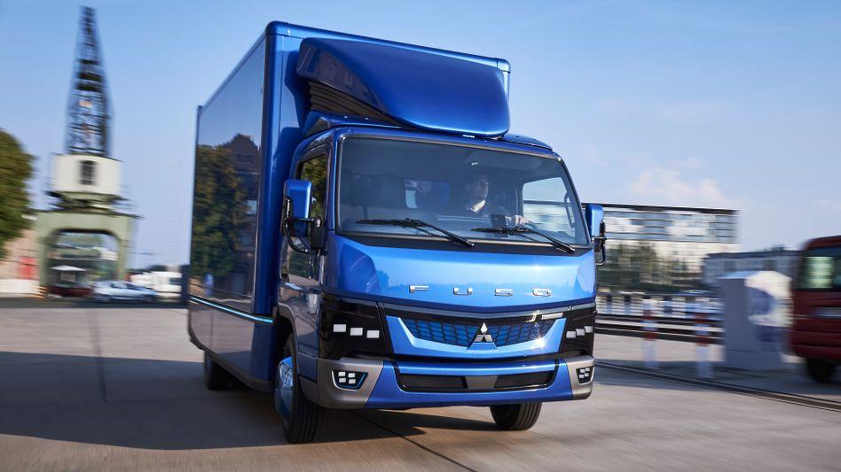 Daimler-Lkw Fuso: Aktivitäten im Iran auf Eis gelegt