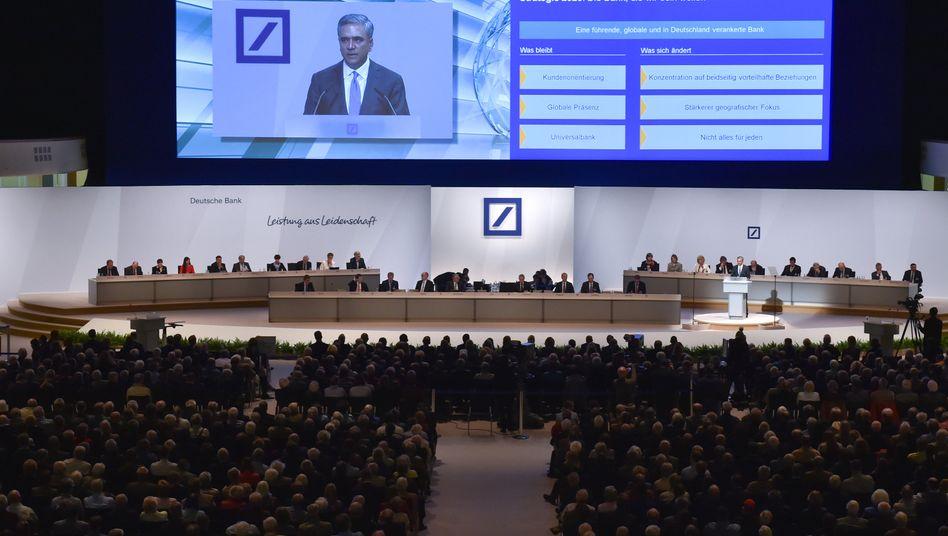 Hauptversammlung der Deutschen Bank: Die Aktionärstreffen der vergangenen Wochen waren wie selten zuvor von Strategiedebatten geprägt.