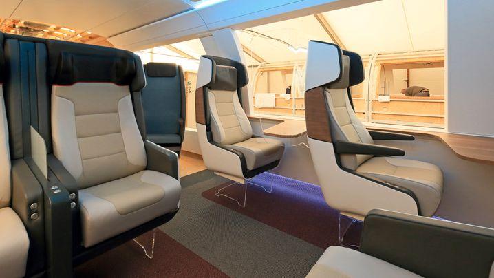 Ideenzug der Deutschen Bahn: Diesen Komfort könnten Passagiere bald genießen