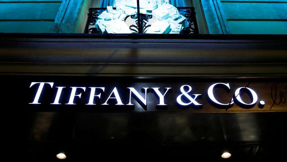 Tiffany-Filiale in Paris: Der Milliardendeal steht auf wackeligen Füßen