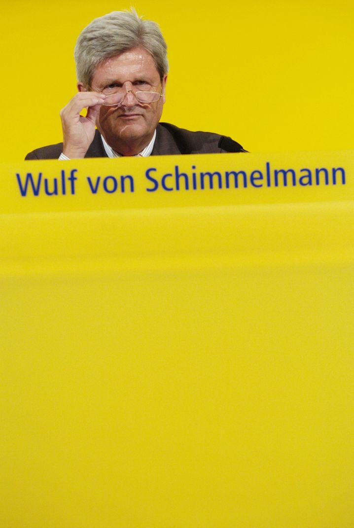 Wulf von Schimmelmann: Der einstige Postbank-Chef sitzt nun im Aufsichtsrat der Deutschen Post