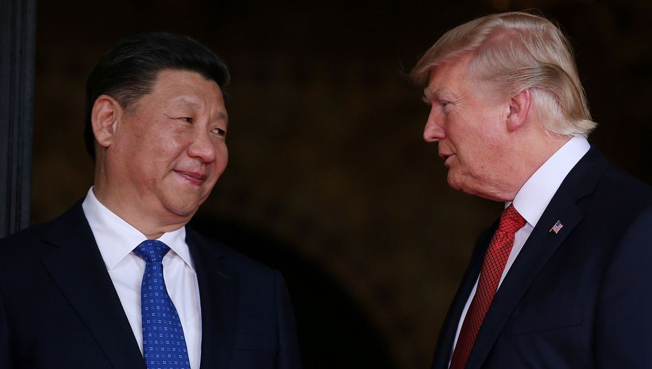 """Das Klima zwischen US-Präsident Donald Trump und Chinas Staatschef Xi Jinping war schon mal besser. Jetzt zeigt Peking im Handelskrieg mit dem Verzicht auf bestimmte Strafzölle eine """"Geste des guten Willens"""", wie chinesische Medien meinen"""
