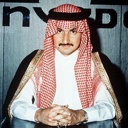Auf Platz fünf: Der saudi-arabische Prinz Alwaleed Bin Talal Bin Abdulaziz Alsaud mit 23,7 Milliarden Dollar