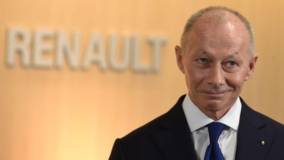Thierry Bolloré, Renault-Generaldirektor und verantwortlich für das operative Geschäft