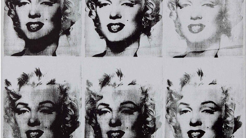"""""""Nine Marilyns"""" von Andy Warhol: Allein dieses Gemälde aus der Macklowe-Sammlung könnte für bis zu 60 Millionen Dollar versteigert werden"""
