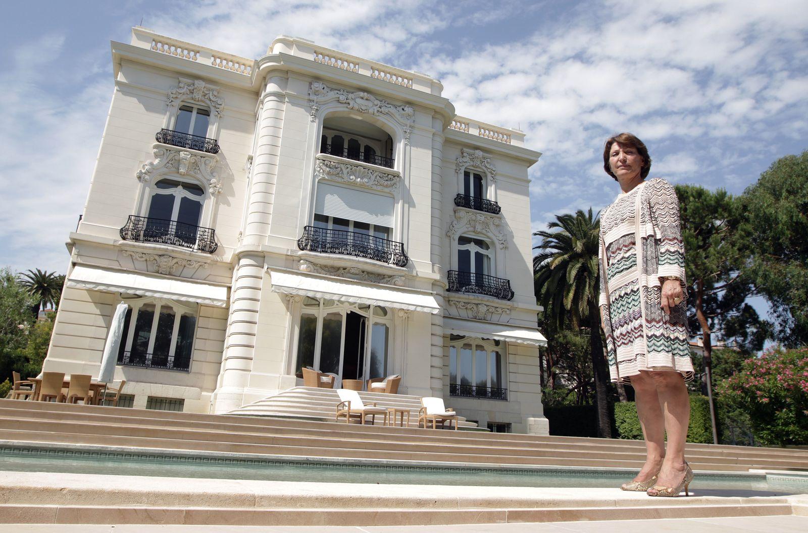 """Marina Picasso; Villa """"La Californie"""""""