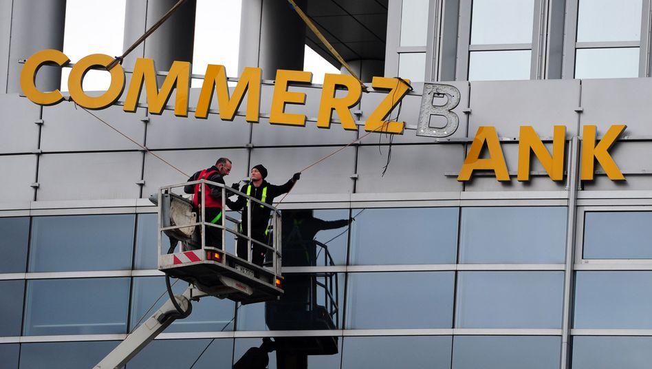 Commerzbank-Filiale in Frankfurt am Main
