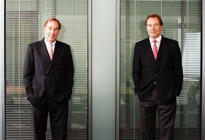 """Andreas Strüngmann (links): """"Deutsche Biotech-Unternehmen sind meist unterbewertet. In den USA kosten vergleichbare Firmen ein Mehrfaches."""""""