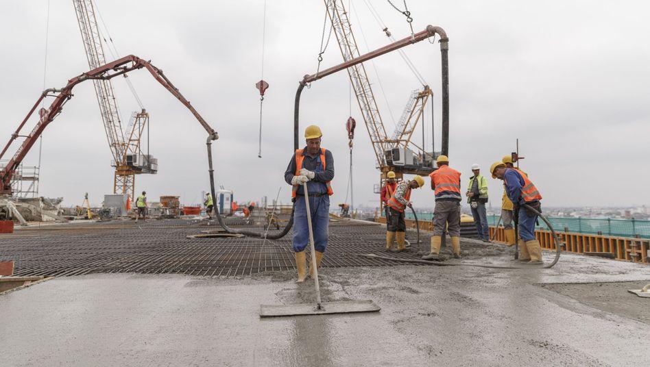 Baustelle: Beim Bund gäbe es noch mehr Geld für Investitionen