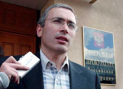 Kräftemessen mit Putin: Mikhail Khodorkovsky