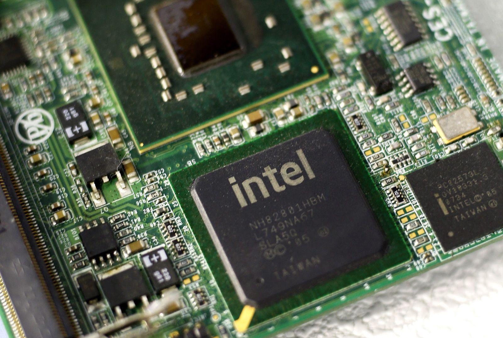 COMPUTEX Intel Mainboard Chip