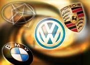 Die deutschen Autobauer dürften erst 2004 wieder in Fahrt kommen