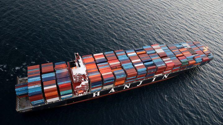 Großreederei löst Branchenbeben aus: Darum könnte Hanjin zum Lehman Brothers der Schifffahrt werden