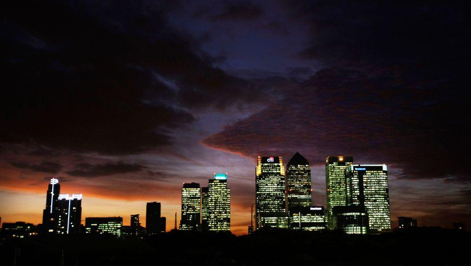 Londoner Bankenviertel: Ein von den Finanzinstituten finanzierter Fonds soll bei der Abwicklung von Banken zum Einsatz kommen