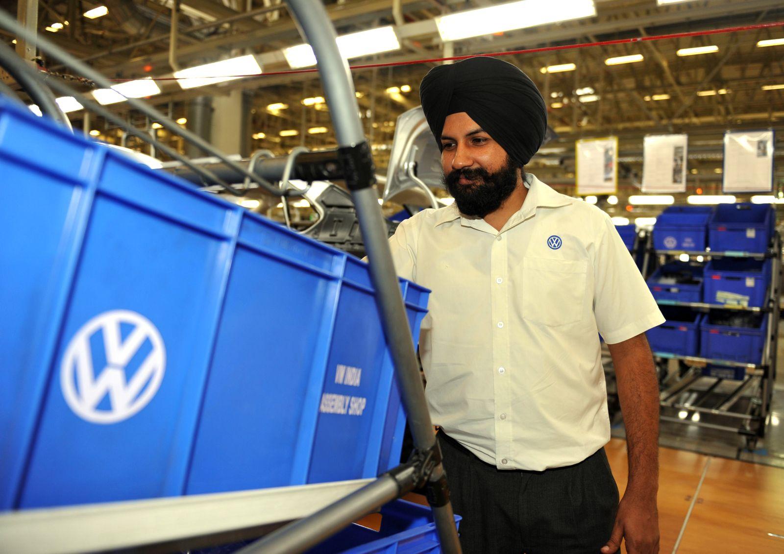 Volkswagen / Indien / Arbeiter