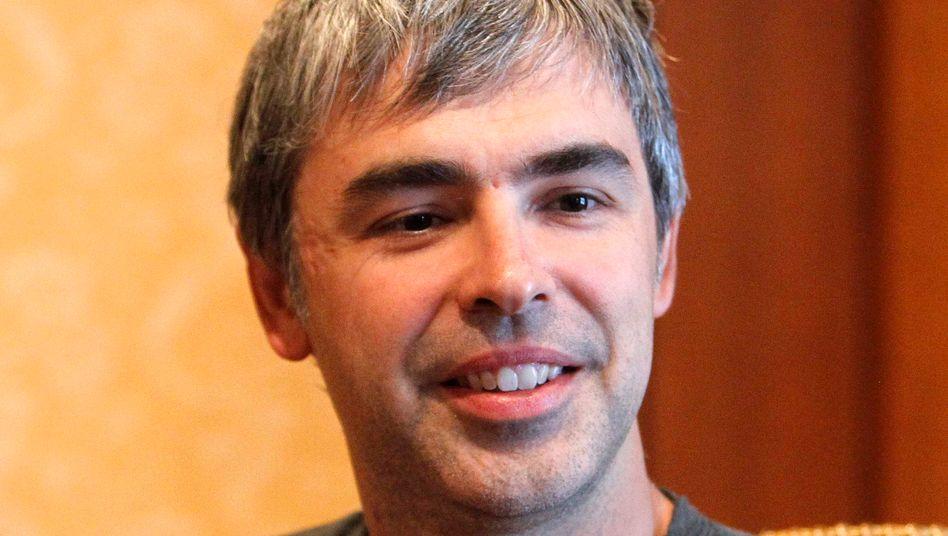 Weniger, aber größere Wetten: Google-CEO Larry Page kennt sich mit dem Innenleben von Google bestens aus