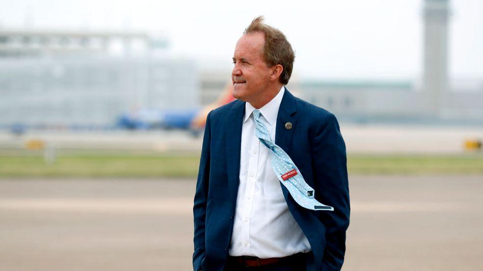 Angriffslustig: Texas' Justizminister Ken Paxton will Google zerteilt sehen