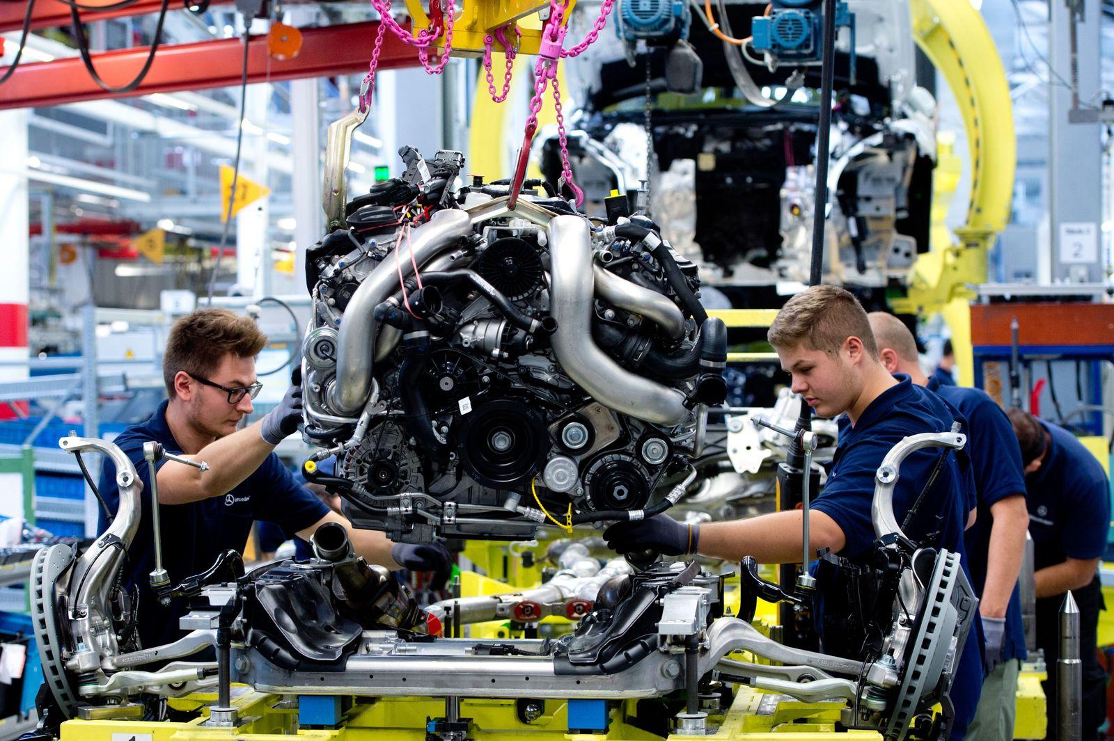 Daimler/ Produktion