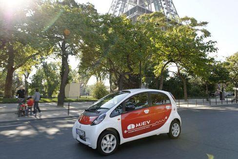 Kugeliger Fahrspaß: Der Mitsubishi i-MiEV soll bereits in einem Jahr den europäischen Markt erobern