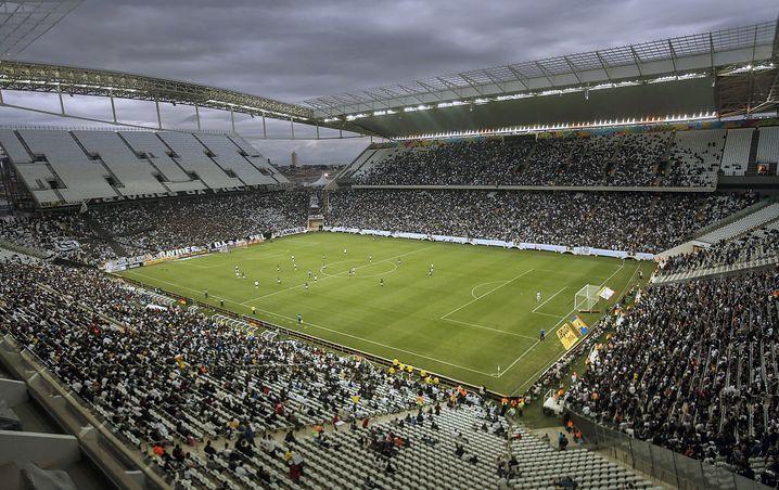 Arena Corinthians in Sao Paulo