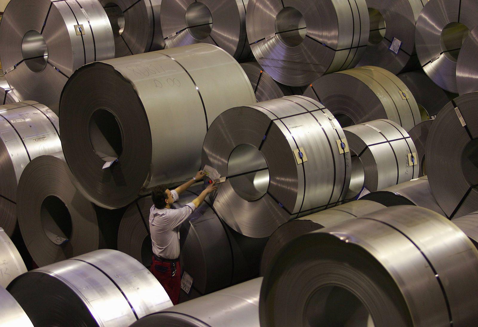 NICHT VERWENDEN Metallproduktion