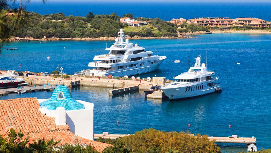 Kostspieliges Kleinod Porto Cervo auf Sardinien: Auch Millionäre sind nur Menschen