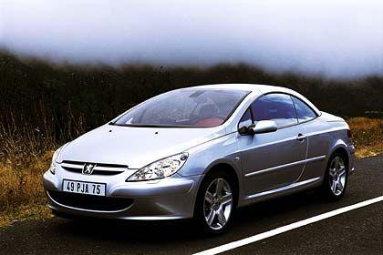 Peugeot 307 CC: Beinah Coupé