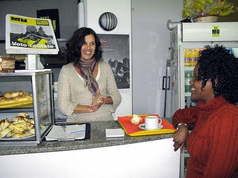 Die Journalistin Claudia Acuña: Sie gründete 2001 mit anderen Journalisten die Kooperative Lavaca