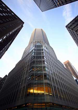 Bear Stearns Zentrale in New York: Auch Merrill Lynch und die Deutsche Bank bekamen Post vom Staatsanwalt