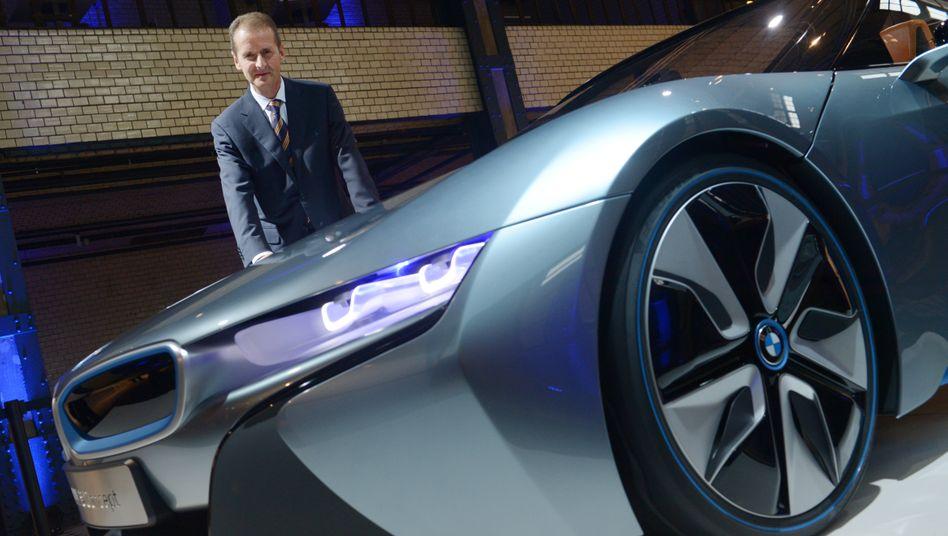 Kennt sich damit aus, Milliarden einzusparen: BMW-Entwicklungsvorstand Herbert Diess