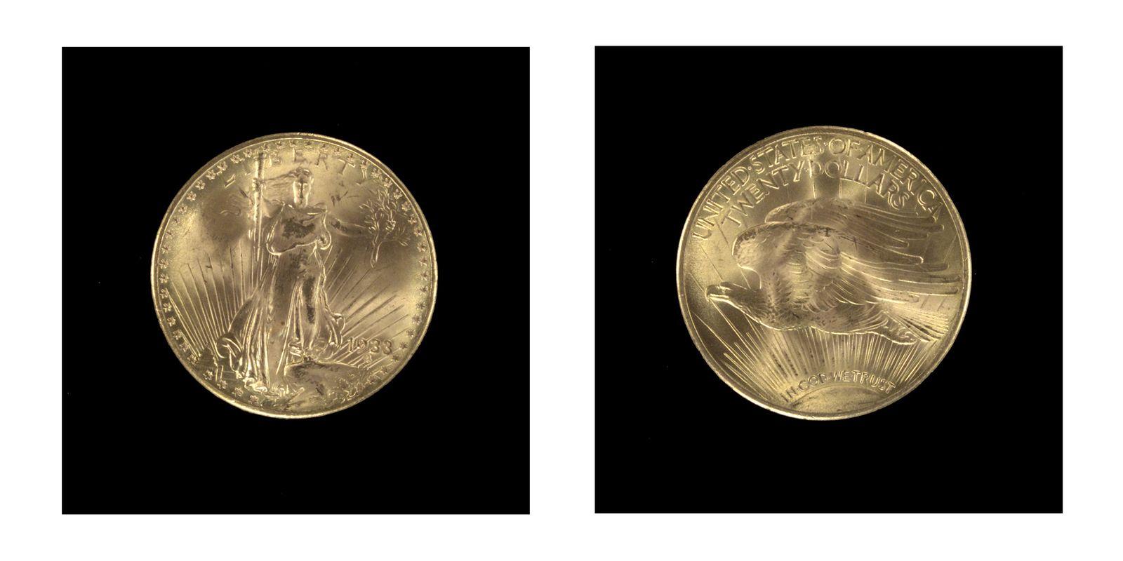 Goldmünze / Double Eagle