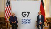 G7 einigen sich auf weltweite Mindeststeuer