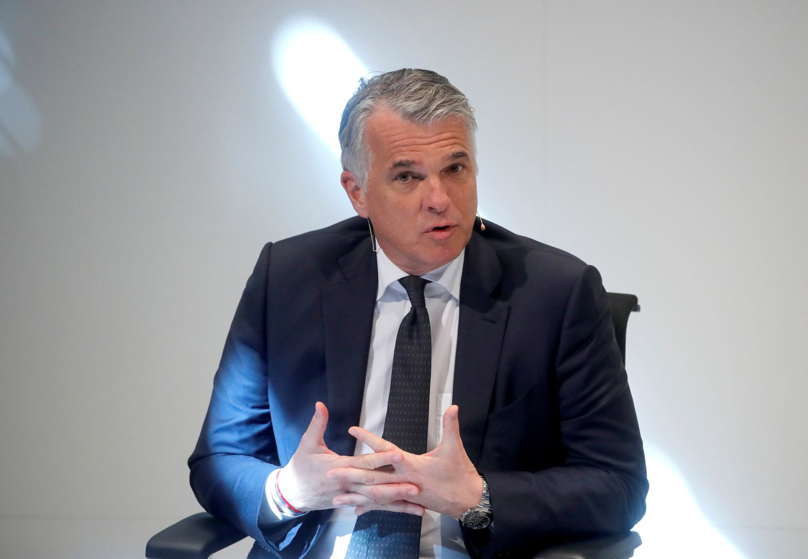 UBS GROUP-CEO/ Sergio Ermotti / Swiss Re
