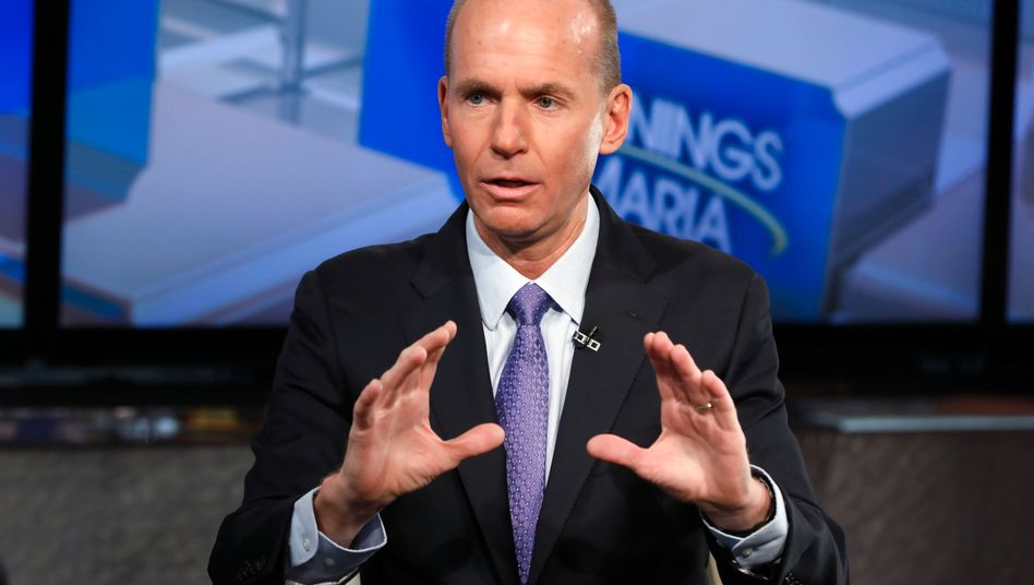 Großverdiener: Boeing-CEO Dennis Muilenburg